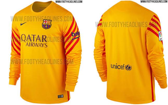 Los porteros del FC Barcelona también lucirán la senyera 9970336271a44