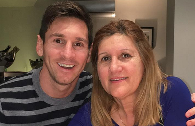 messi madre