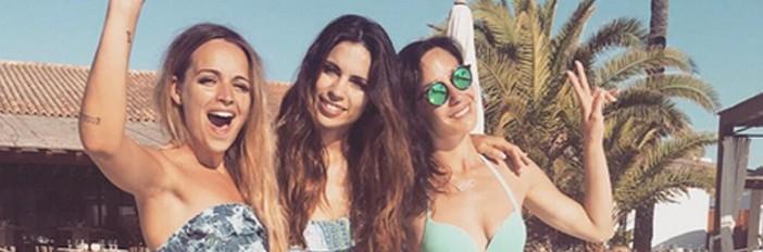 chicas vacaciones