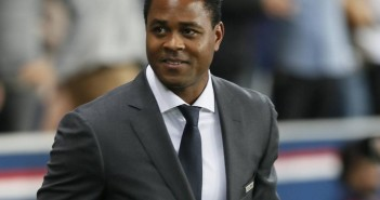 30.09.2014, Paris - UEFA Champions League 2014/2015 - Paris St. Germain vs FC Barcelona - Patrick Kluivert ex-player of FC Barcelona attends the Champions League match, group stage in Paris, the 30th of september 2014. PUBLICATIONxINxGERxSUIxAUTxHUNxONLY  30 09 2014 Paris UEFA Champions League 2014 2015 Paris St Germain vs FC Barcelona Patrick Kluivert Ex Player of FC Barcelona Attends The Champions League Match Group Stage in Paris The 30th of September 2014 PUBLICATIONxINxGERxSUIxAUTxHUNxONLY