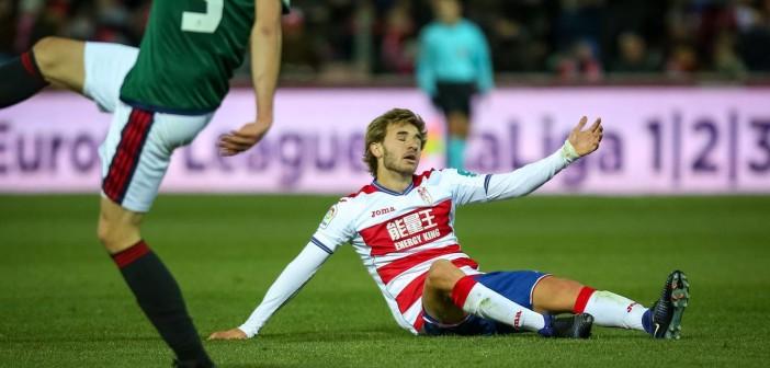 20170115.- FOTO: FERMIN RODRIGUEZ. Partido de fútbol entre el Granada CF y Osasuna.