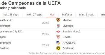 Jornada Champions