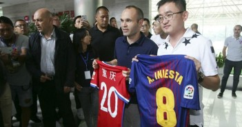 andres iniesta china
