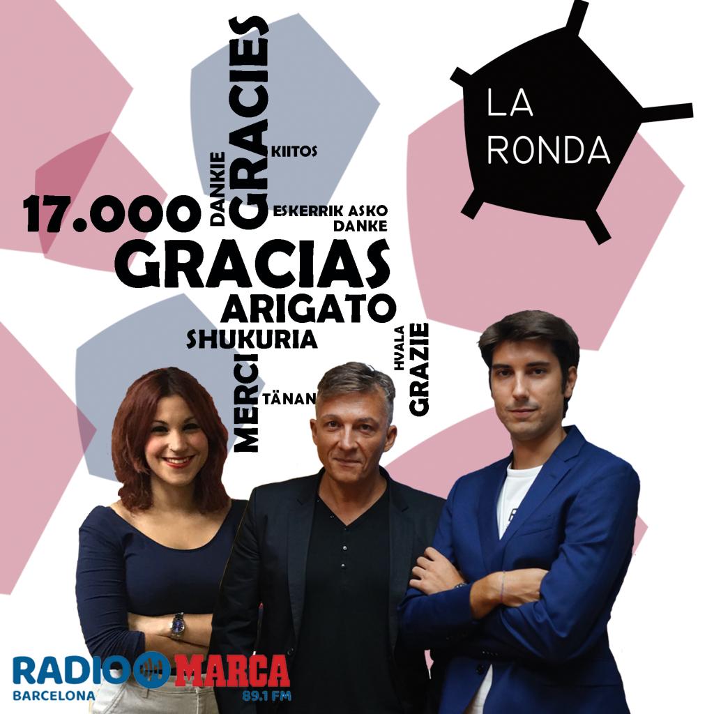 LR 17mil gracias