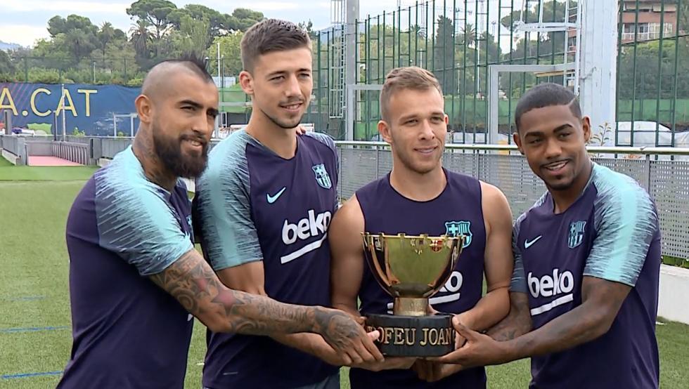 El Barça disputa mañana el Gamper d2fc22d6ff0