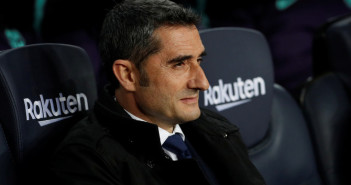 Soccer Football - La Liga Santander - FC Barcelona v Celta Vigo - Camp Nou, Barcelona, Spain - December 22, 2018  Barcelona coach Ernesto Valverde before the match       REUTERS/Albert Gea - RC1585AFCFF0