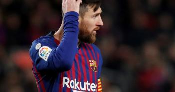 Pendientes del estado físico de Messi
