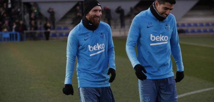 Messi se acerca al Clásico