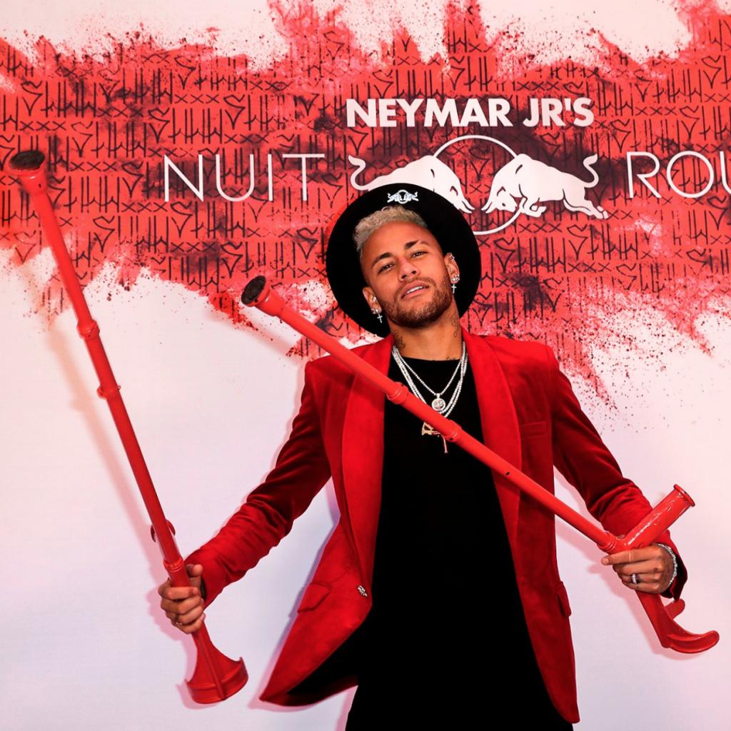 El fiestón de Neymar