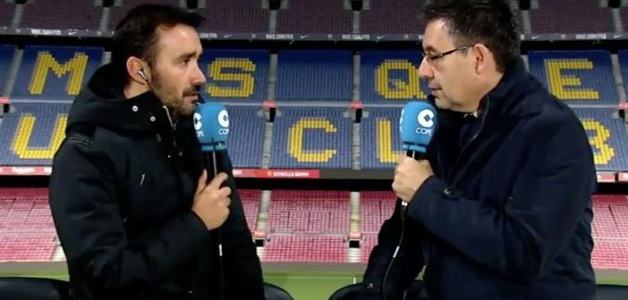 "Bartomeu: ""Ni Neymar ni su padre me han llamado"""