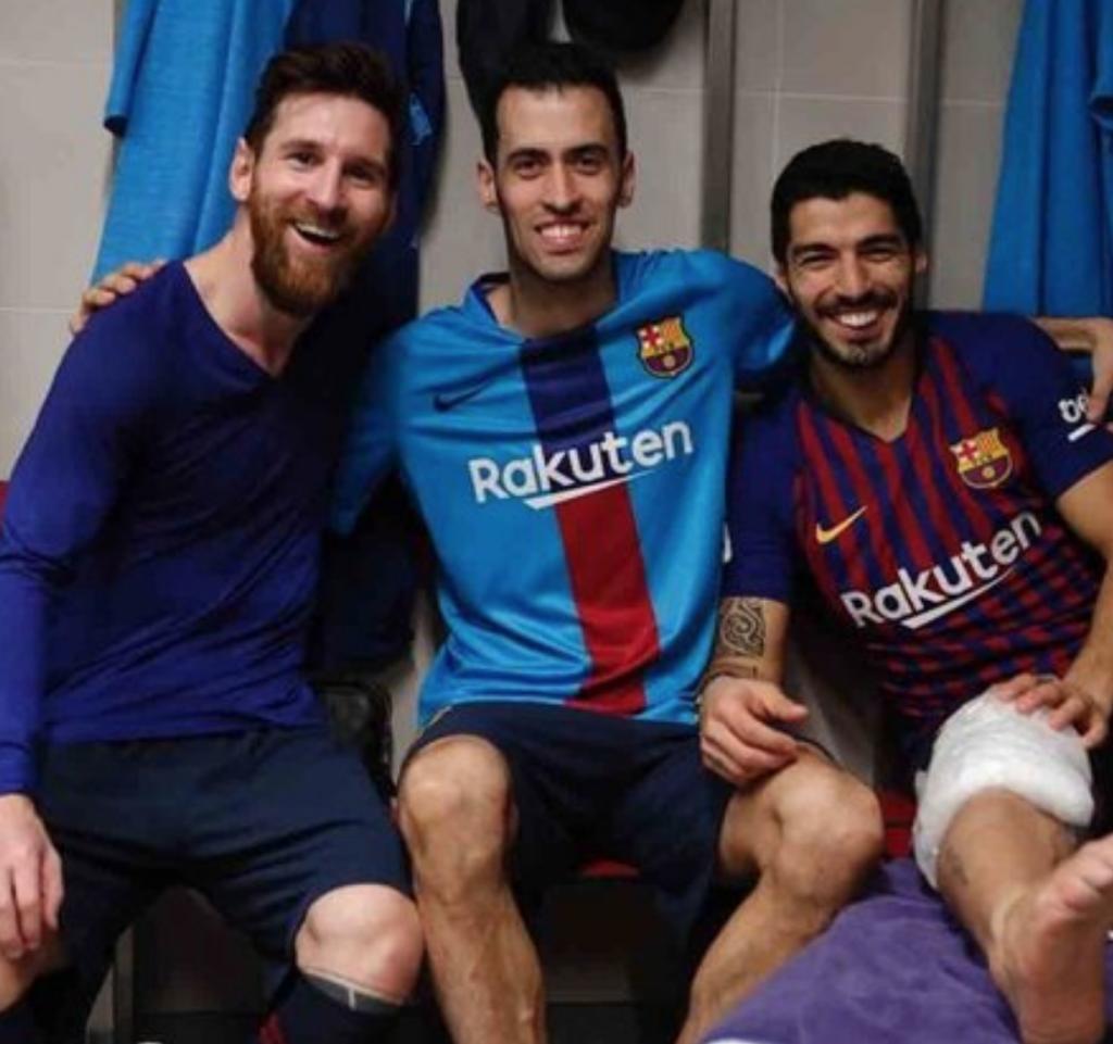 ¿Qué le pasa a la rodilla de Luís Suárez?