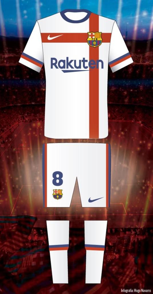 La camiseta blanca del Barça que no verá la luz