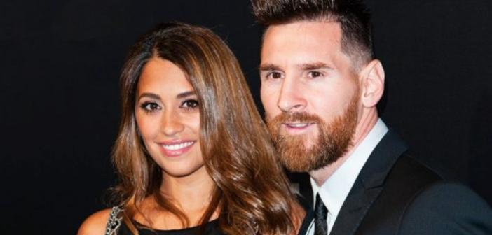 El sorprendente disfraz de la mujer de Leo Messi