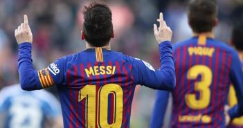 Messi acaba con la resistencia del Espanyol
