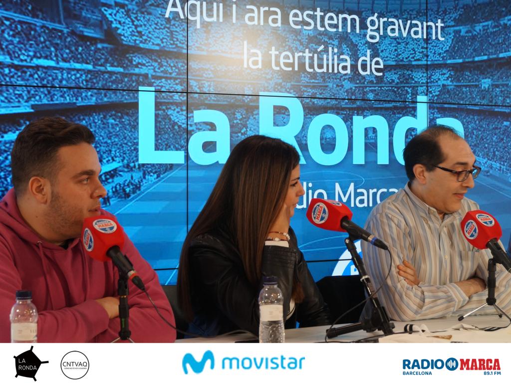 ¡Revive la tertulia de La Ronda en Movistar Centre!