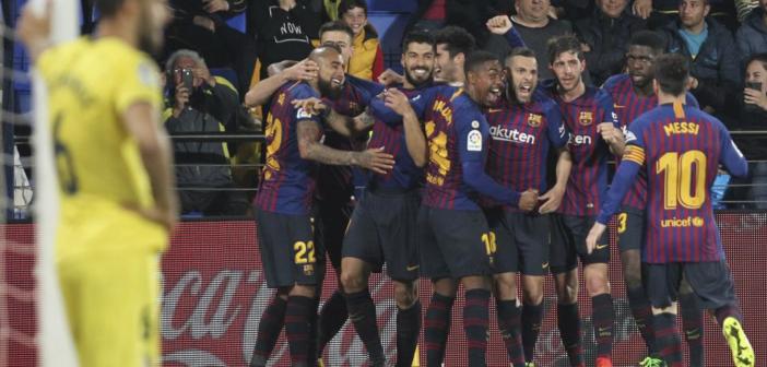 El Barça se vuelve loco en Villarreal (4-4)