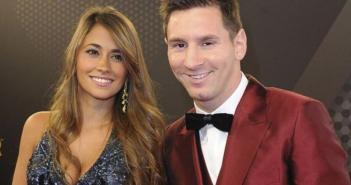 La foto más tierna de Messi y su mujer