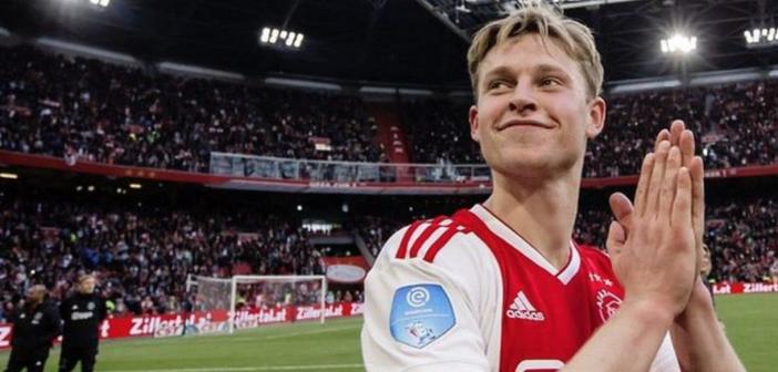 """De Jong: """"Me muero de ganas por poder entrenar con Messi"""""""