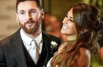 Las imágenes más tiernas de Messi y su mujer