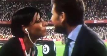 Cobra épica de Mateu Alemany a una reportera tras la final de Copa