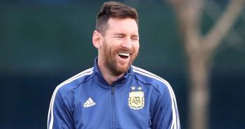 """Messi: """"Mi hijo Mateo le grita los goles del Real Madrid a su hermano Thiago"""""""