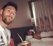 El momento mate de Messi con Agüero
